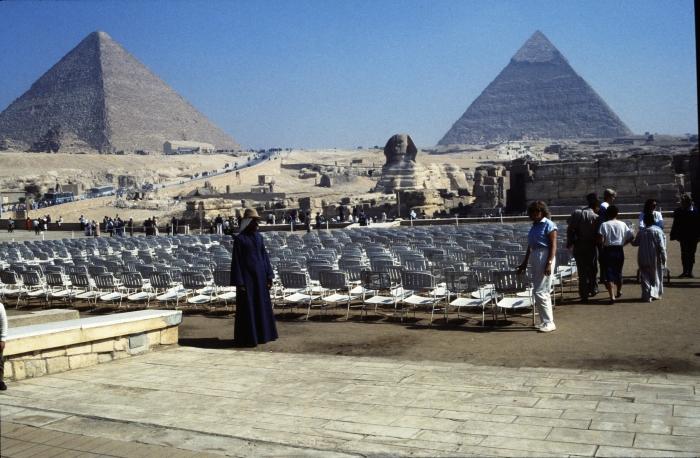 Die Pyramiden von Gizeh …