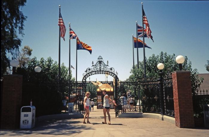 Disneyland in Anaheim …
