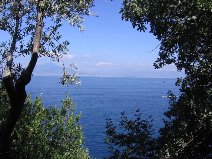 Der Golf von Neapel …