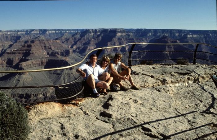 Der Grand Canyon war …