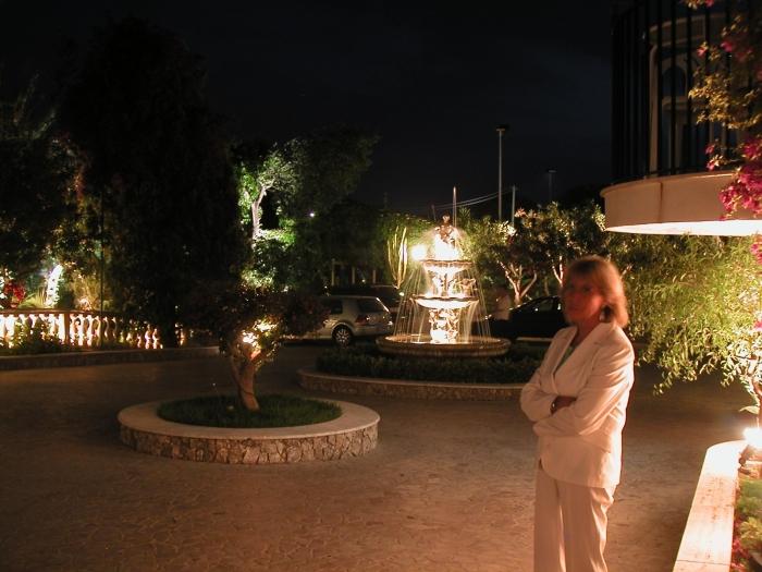 Unser romatisches Hotel …