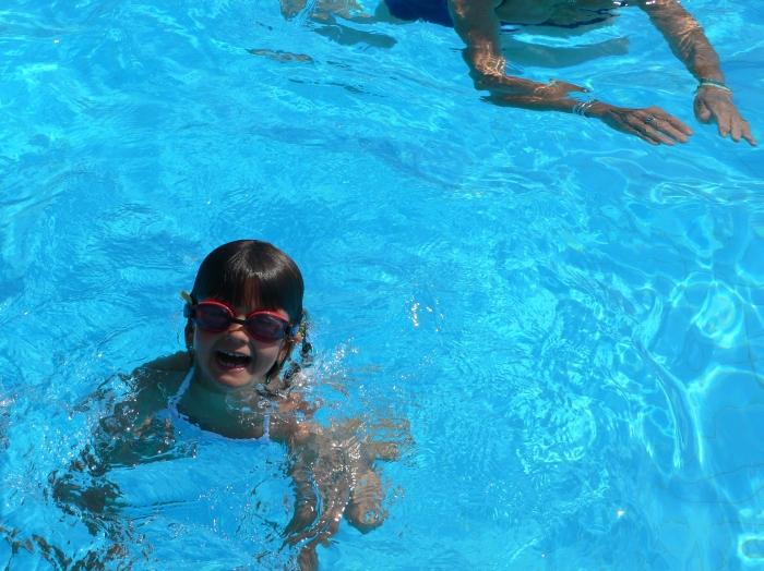 Sonnen, Schwimmen …
