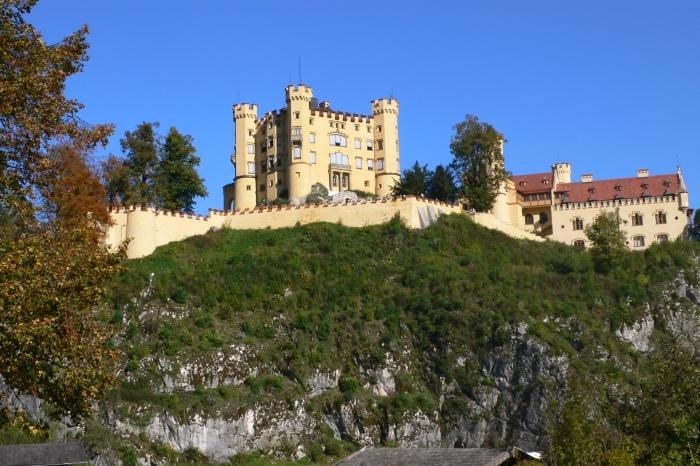 Das Schloss seiner Eltern …