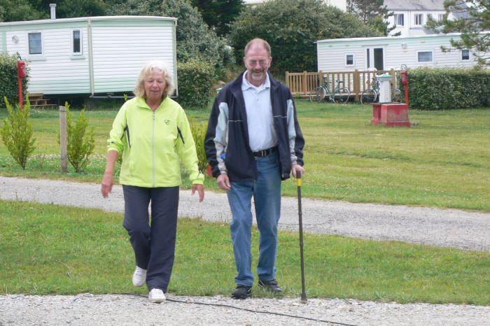 Margit und Bernd haben …