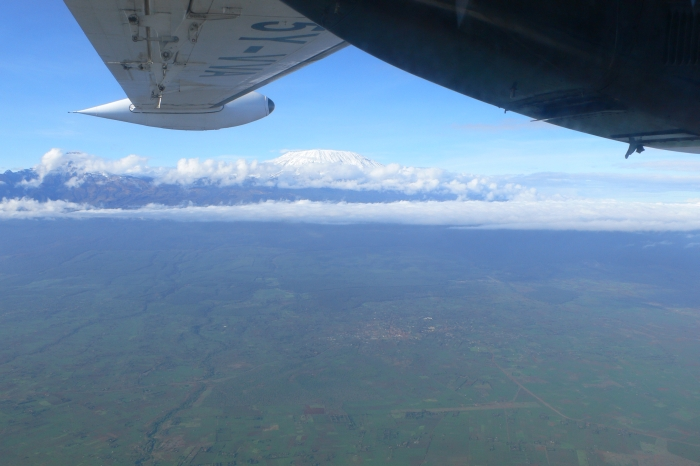 Der Kilimandscharo …