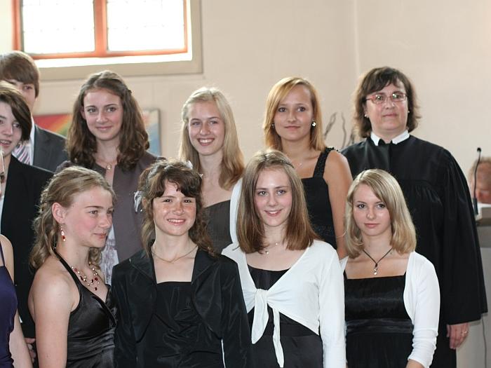 Die Mädchen-Fraktion …