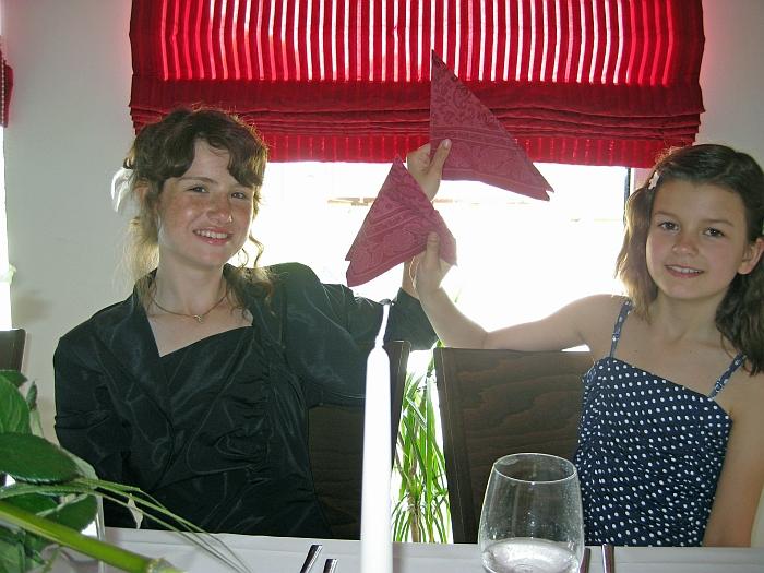 Vanessa und Michelle …