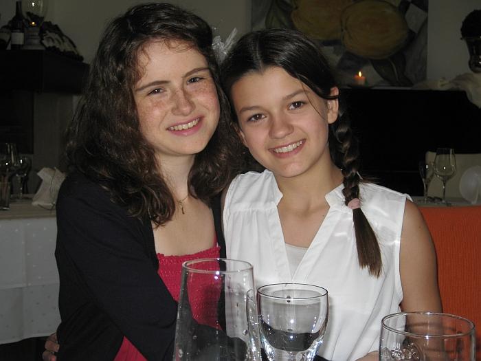 Vanessa und Michelle �