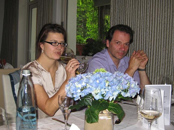 Zuzana und Andreas sind �