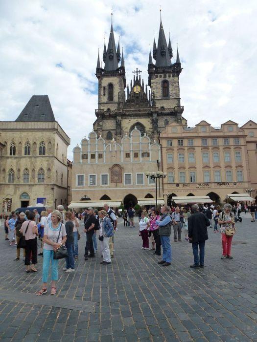 Die ehrwürdige Teynkirche …