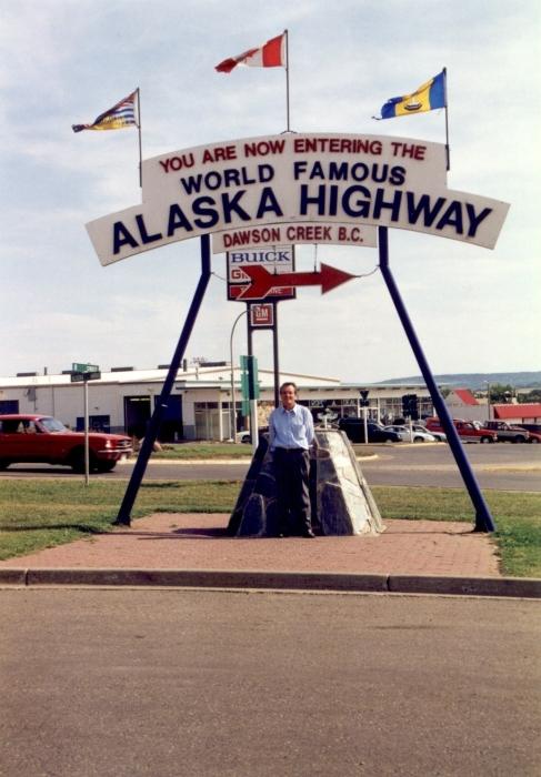 Von Dawson Creek, BC …