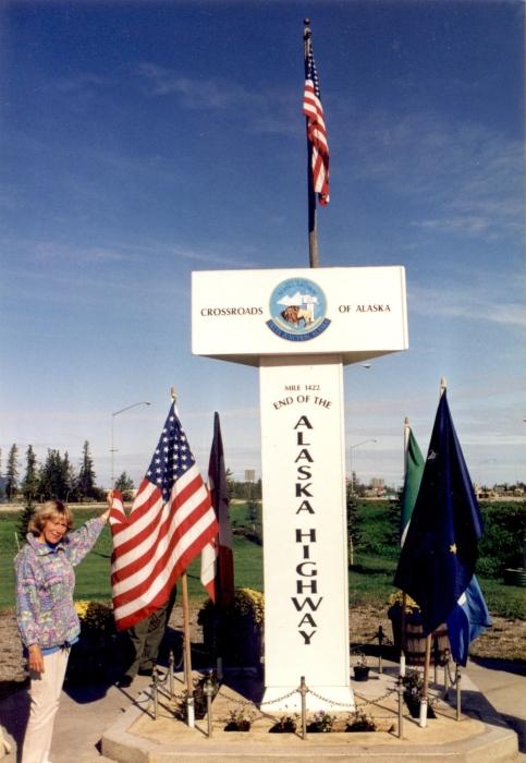 End of Alaska Highway …