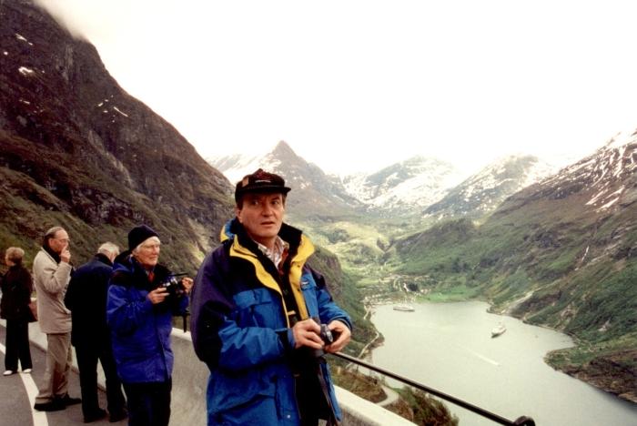 Der Geiranger-Fjord ...