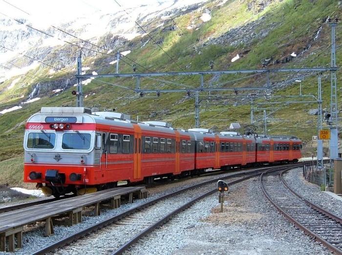 Mit der Bergenbahn …